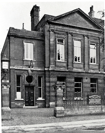 Masonic Hall, Grove Rd, c1931