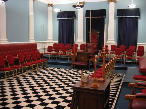 Sutton Masonic Hall - Large Temple