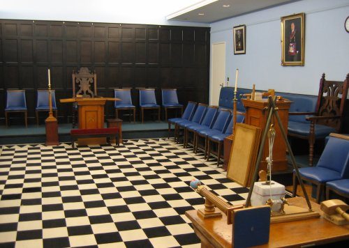 Sutton Masonic Hall - Small Temple