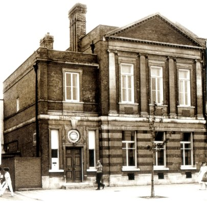 Sutton Masonic Hall, circa 1970